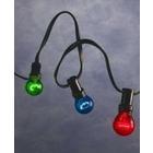 Konstsmide Konstsmide. Ljusslinga med färgade lampor. Ljusslinga med 10 stycken färgade glödlampor. E27. 7m