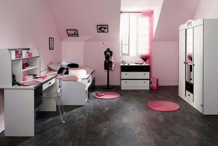 Kız yatak odası dekorasyon örnekleri 10