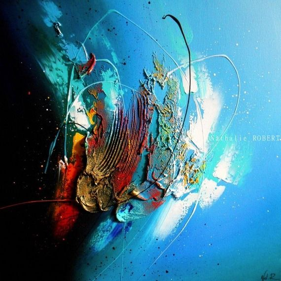 185 best peinture abstraite images on Pinterest Canvases, Abstract