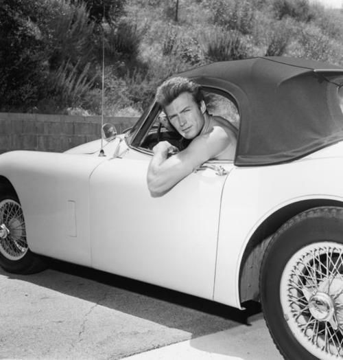 Clint in a Jag