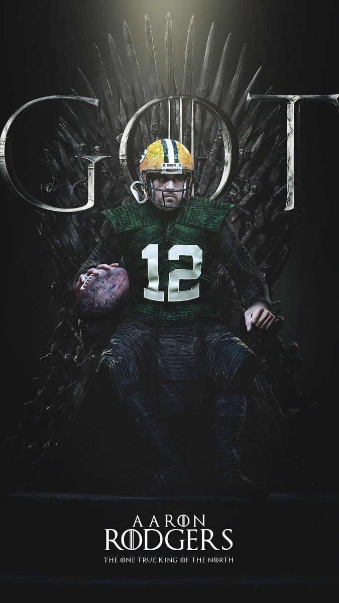 My Goodness Kingofthenorth Aaron Rodgers Green Bay Packers Vikings Football