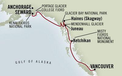 Alaskan Cruise - Inside Passage