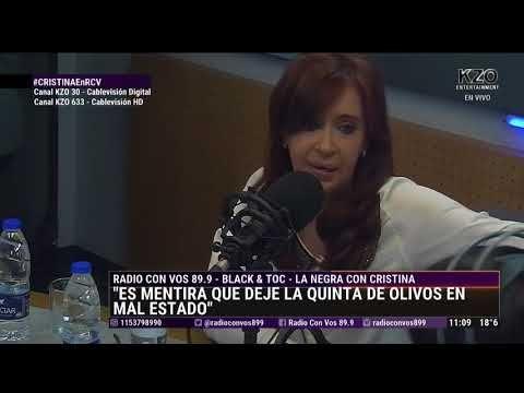 Cristina Fernandez de Kirchner con La Negra Vernaci - Entrevista Completa - YouTube