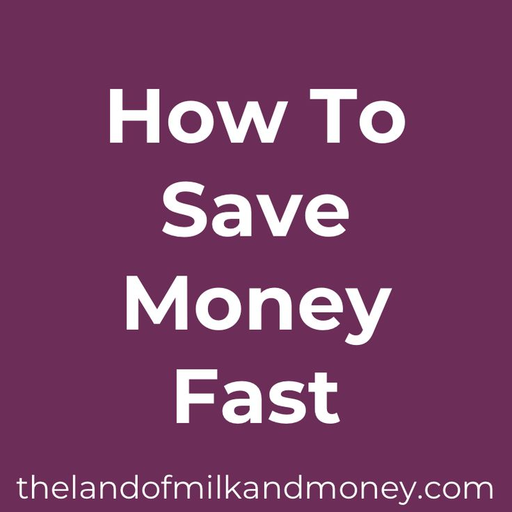 How To Save Money Fast – How To Save Money Fast