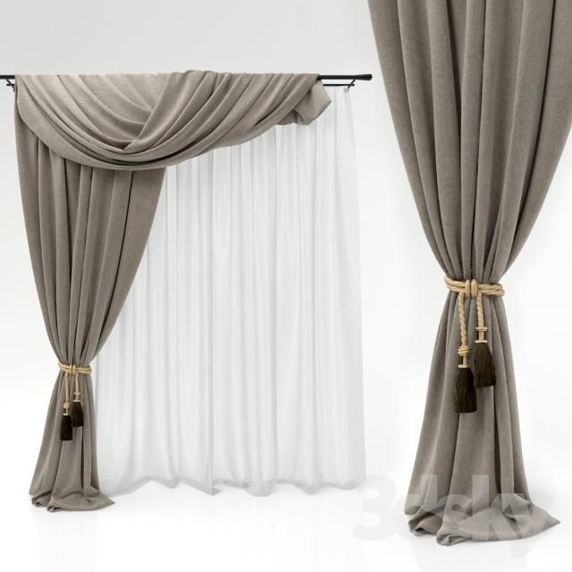 New Classic curtain for living room and bedroom