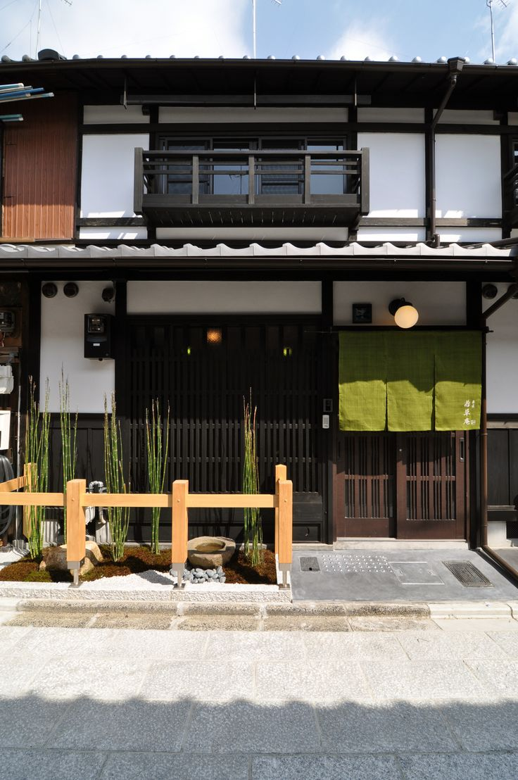 京都の伝統家屋 町家の貸切の宿 朱雀若草庵_外観 kyoyadoya Japan kyoto machiya inn