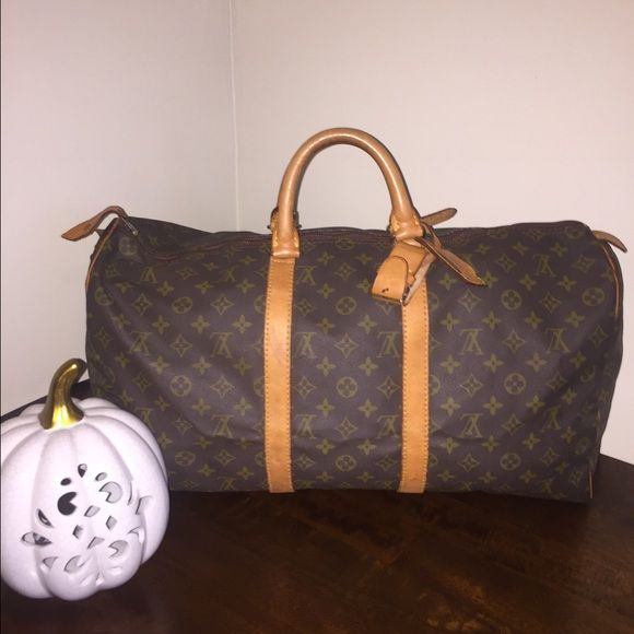 Authentic LV Monogram Keepall 50 🔴🔴PRICE DROP🔴🔴Pre loved