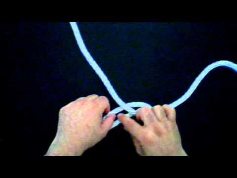 TRIPLE FISHERMAN'S KNOT union ceremony video how to