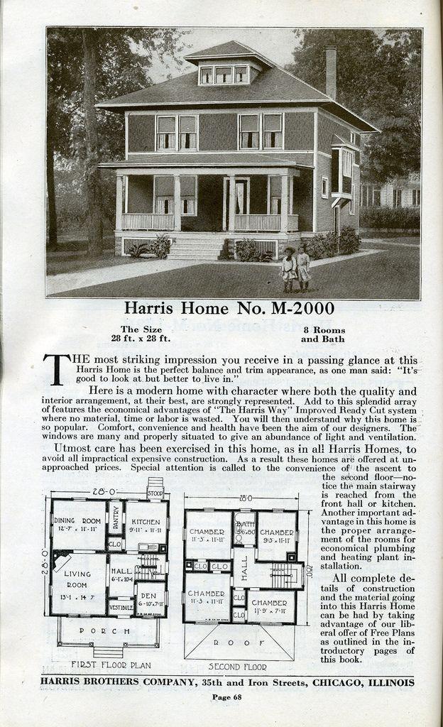 16 best Foursquare plans images on Pinterest   Vintage homes ...