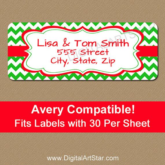 51 best Avery Label Templates images on Pinterest Print - mailing address labels template