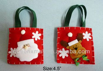 Gift christmas felt bags, View gift christmas, Product Details from Shantou Queen Xmas Arts&Crafts Factory on Alibaba.com