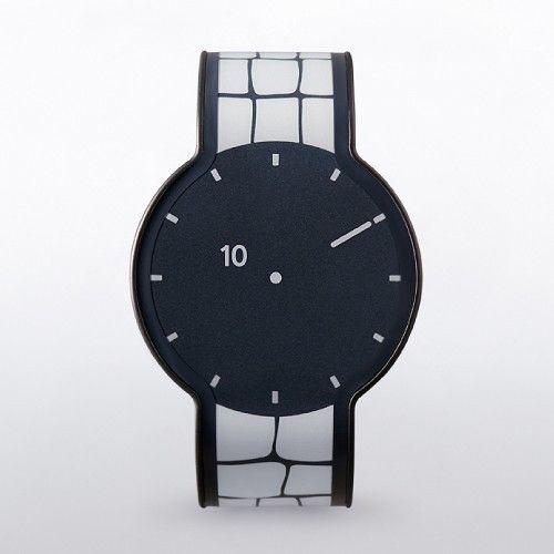 好きな時に好きなデザインで楽しめる、柄が変わる時計です。・2015年度グッドデザイン賞、受賞・メーカー:ソニー文字盤とベルトが電子ペーパーで出来ており、ボタンを操作することで、時計全体の柄を変えることが出来ます。柄のデザインバリエーションは24通り。その日の服装や気分、シチュエーションに合わせて時計の表情を変えてお楽しみいただけます。ファッションの新しい楽しみ方を可能にする、文字盤ベルト一体型の電子ペーパーウォッチをぜひご体験下さい。
