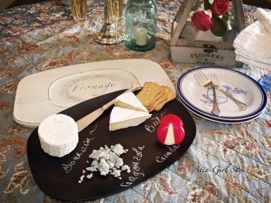 Pinning this again with the direct link. Wax paper transfer cheese board.