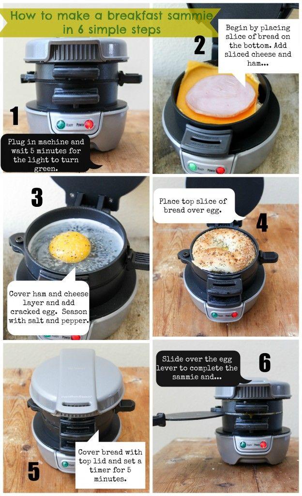 Hamilton Beach Breakfast Sandwich Maker Giveaway on the blog!