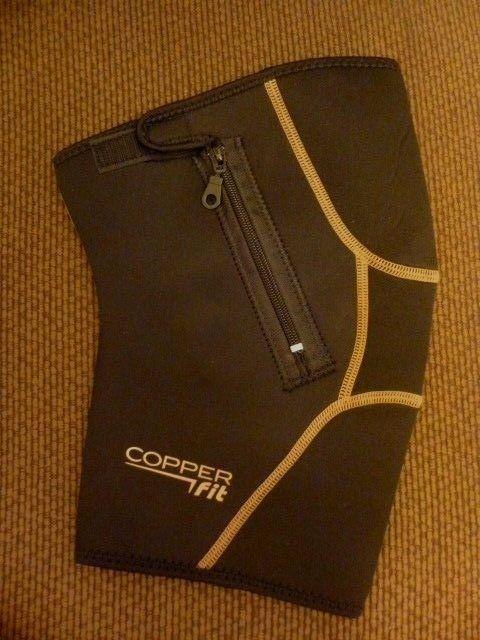 Copper Copper  Fit Knee Brace Black Compression sleeve joint pain XXL - XXXL #CopperFit