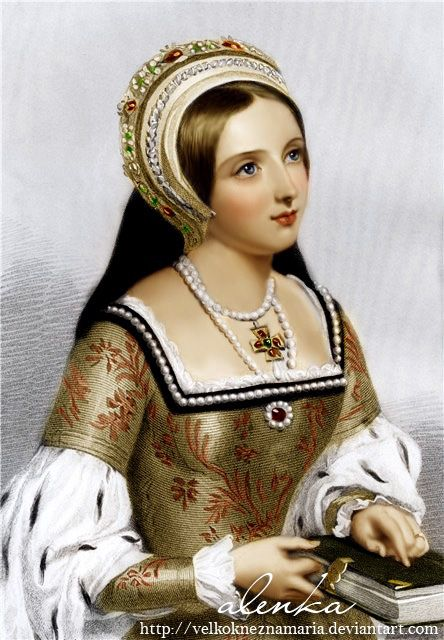 Catherine Parr coloring by VelkokneznaMaria on deviantART