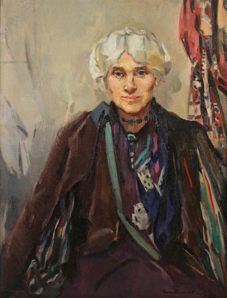 Portrait of Jessie M King by Lena Alexander