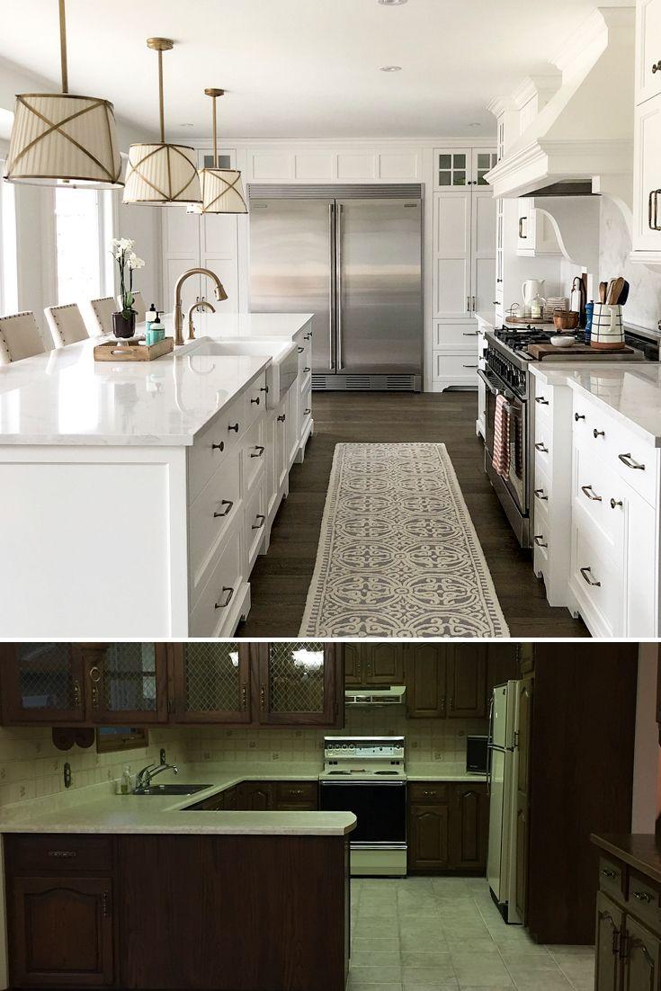 Refine Define Dated To Darling 5 Kitchen Makeovers Mediterranean Interior Design Kitchen Cambria Countertops White Cabinets