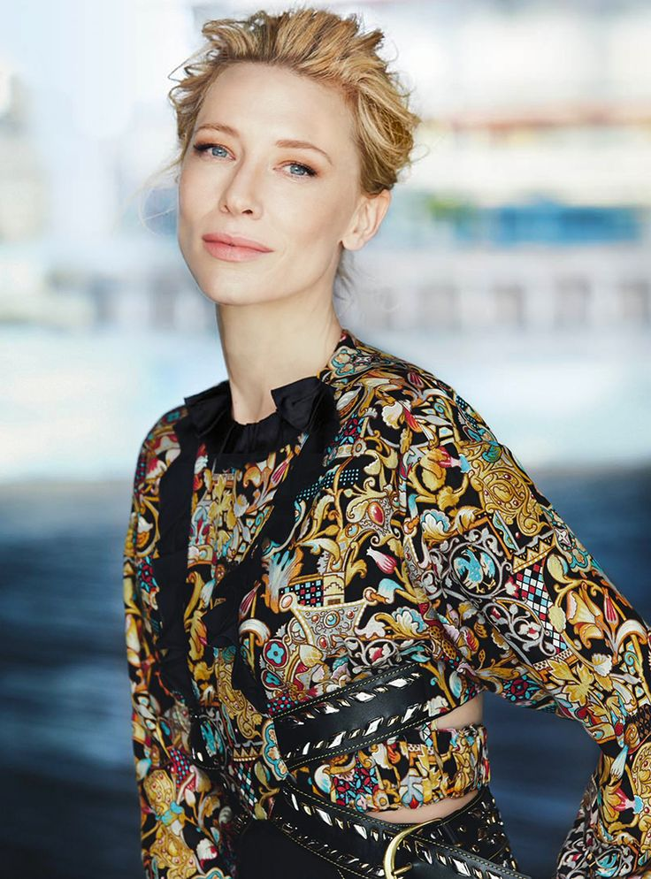 Cate Blanchett, photographed by Will Davidson for Vogue Australia, December 2015.