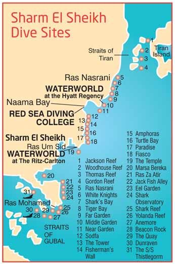sharm el sheikh diving map, I'm already planning to get there to dive in at least 4 or 5 special points this summer, see you on July 2015 Sharm ;)