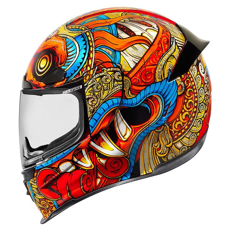 Barong Red Helmets Icon Motosports Ride Among Us