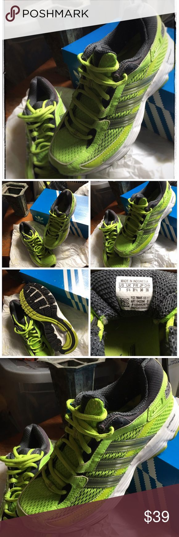 adidas adiPRENE adidas adiPRENE size woman size 7 in a neon green color. adidas Shoes Sneakers