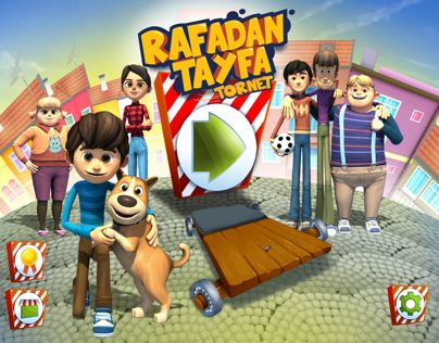 "Check out new work on my @Behance portfolio: ""Rafadan tayfa tornet game"" http://be.net/gallery/36520967/Rafadan-tayfa-tornet-game"