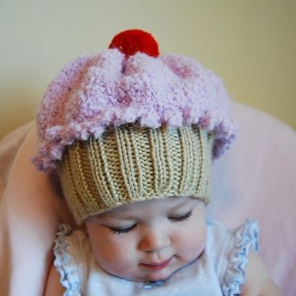 Cutest little cupcake baby hat