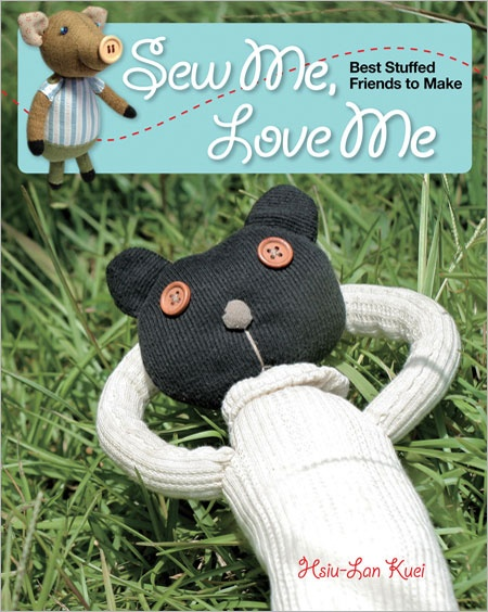 Sew Me, Love Me: Best Stuffed Friends to Make - 30% proceeds go to National Breast Cancer Foundation through Oct. 5, 2012 #GoPink