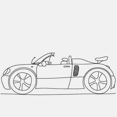 Comment dessiner une voiture - http://www.dessein-de-dessin.com/comment-dessiner-une-voiture/