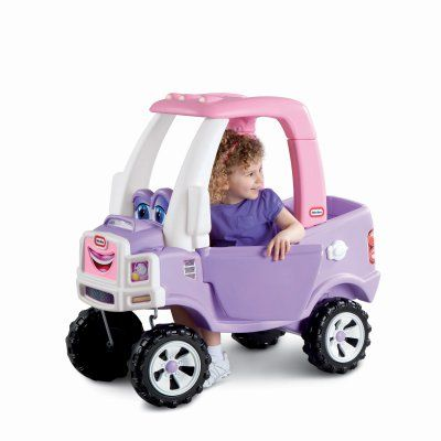 Little Tikes Princess Cozy Coupe Truck Riding Push Toy - 627514MP, Durable