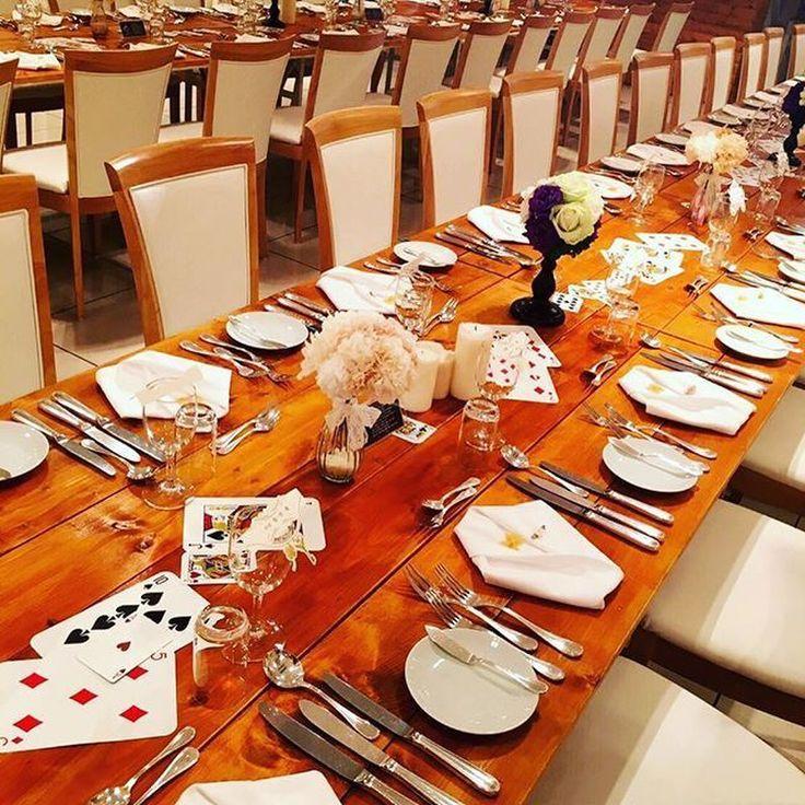 【結婚式レポ】テーマは「カジノ」!ラスベガス挙式にちなんだおふたりのお披露目パーティー♩