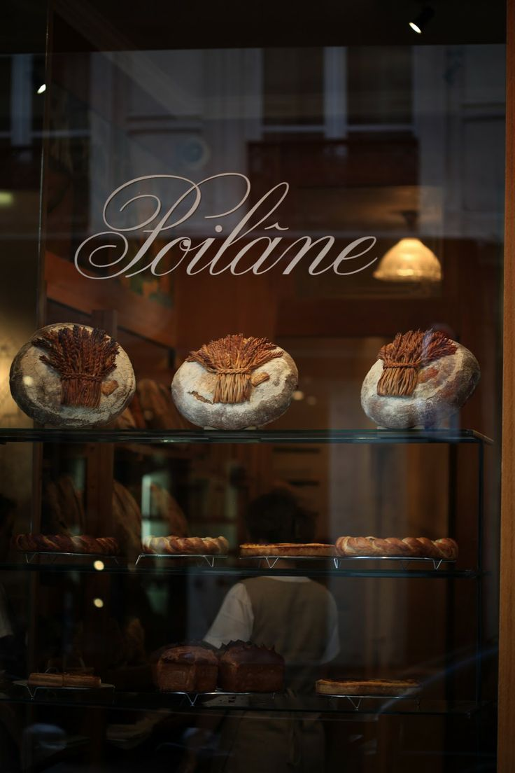 Legendary Boulangerie Poilâne, Paris. Some of the most sought -after breads in the world