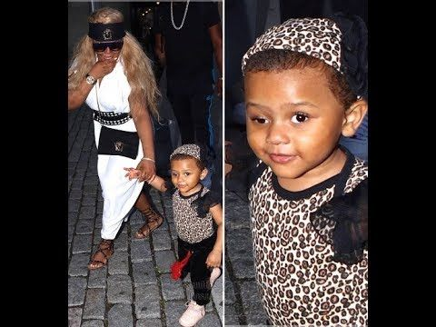 Lil Kim's daughter is a big girl now! See what Royal Reign looks like now! - YouTube