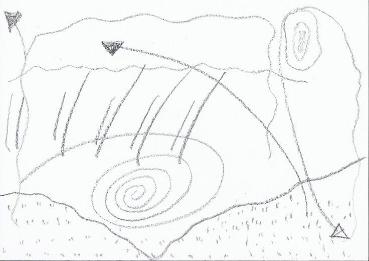 Opdracht 3 tekening bij muzieknummer 'San Francisco Swim' van Close Up