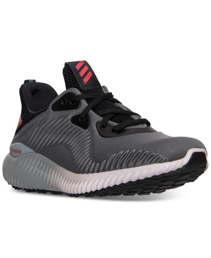 adidas Boys' Alpha Bounce Running Sneakers from Finish Line