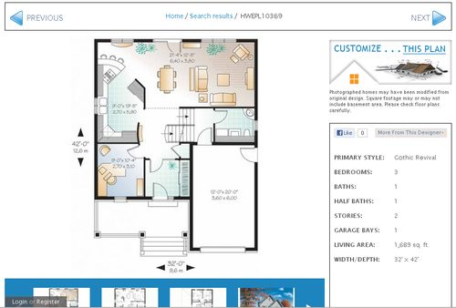 Use eplans.com to create a generic blueprint for a house so you can get some spatial awareness while writing a scene
