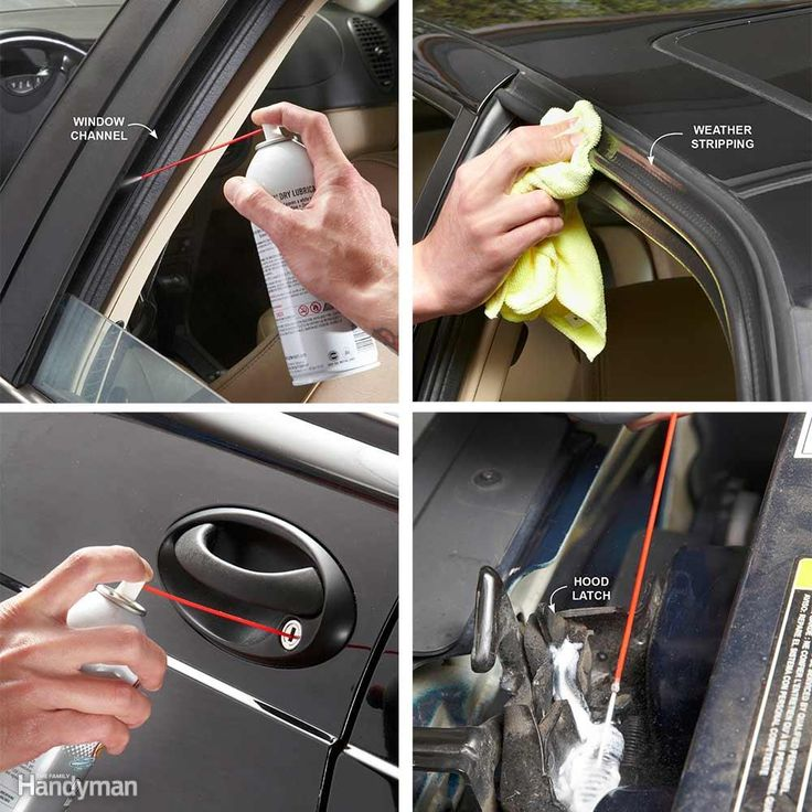 4 Critical Places to Lube Your Car Before Winter: When cold weather is right around the corner, that's the time to lube locks, latches, hinges, window channels and weather stripping. Proper lube can prevent binding and freezing and save you the cost of a busted regulator. You can lube your entire vehicle in less than 20 minutes. All you need is dry Teflon spray, spray lithium grease, a rag and glass cleaner.