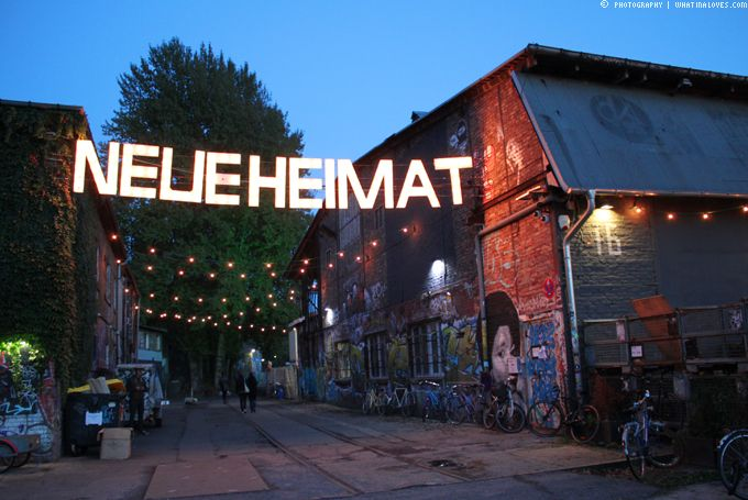 Heute gibt's endlich mal wieder einen Lovely Place! Einen absoluten Lieblingsplatz aus Berlin! Hach Berlin ist so multikulti, bunt und laut...