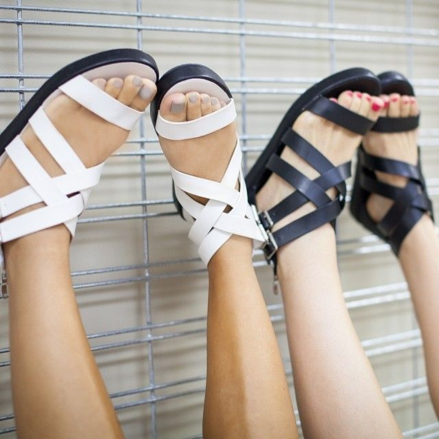Crushin' on sandals