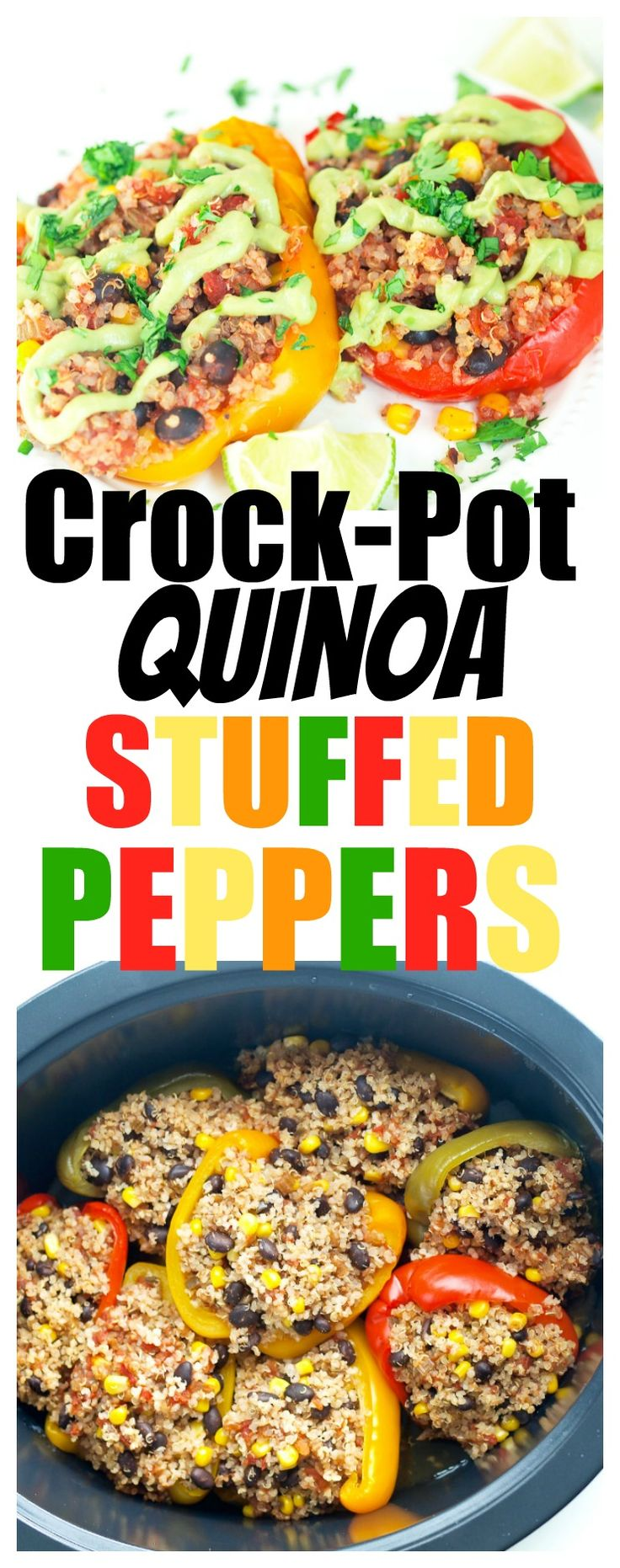 vegan   crockpot recipe   dinner   easy   healthy   quinoa   vegetarian