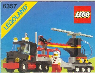 Lego Cement Mixer 6682 Instructions