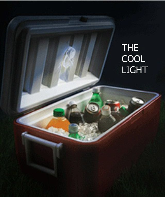 A cooler light!  Awesome for camping. Could use battery-operated puck