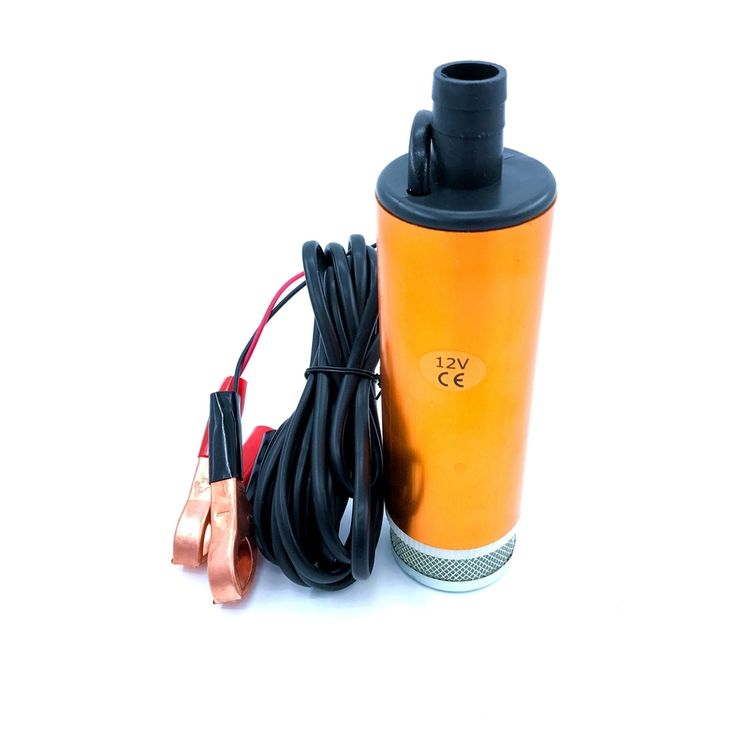 buy submersible diesel fuel transfer water oil pump diameter 51mm aluminium alloy dc 12v 24v #portable #water #filter