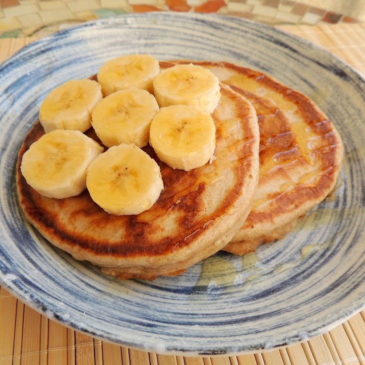 Panqueca Americana Integral, muito fofinha, deliciosa e mais saudável que as tradicionais!