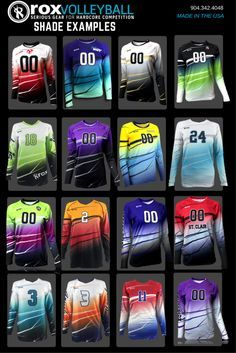 Fully Custom Women's Sublimated Jersey Offered in Long Sleeve, 1/4 Sleeve and Cap Sleeve.  Shaded design works well as two or three color. Design it now with our Volleyball uniform design studio.  Allow 6-8 weeks production time from art approval Design Deposit of $100 This will be applied to your order No Minimums. New orders or add-on orders under 10 pieces. will be charged a flat $50 minimum fee. Add a Solid Color Libero Sublimated Jersey at same price Semi Conform Athletic Cut S...