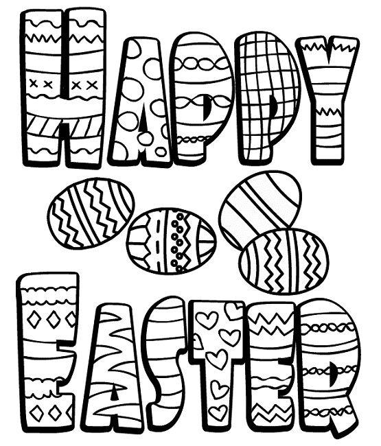 Easter Colouring Pages For Kindergarten : 22 best alphabet images on pinterest