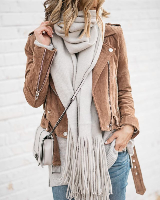 moto jacket | outfit idea | casual style | winter layers | j crew denim | free people | my kind of sweet