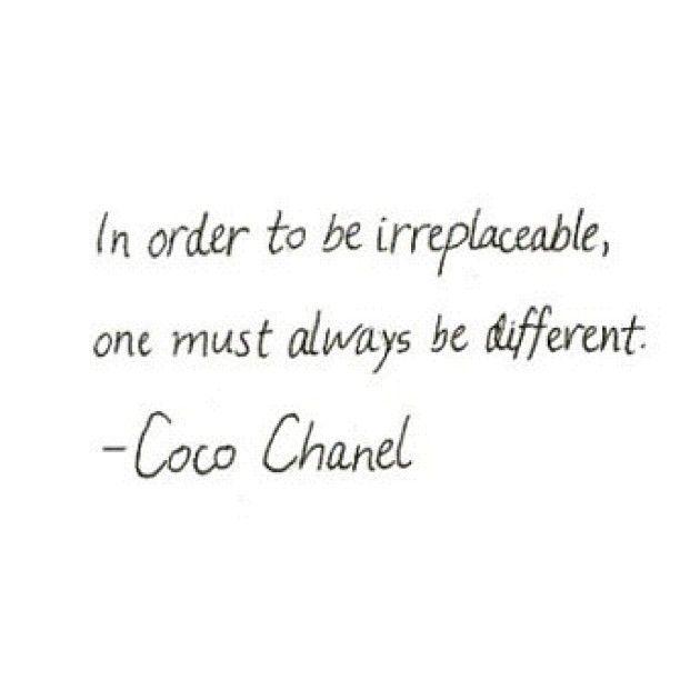 Coco Channel Quote