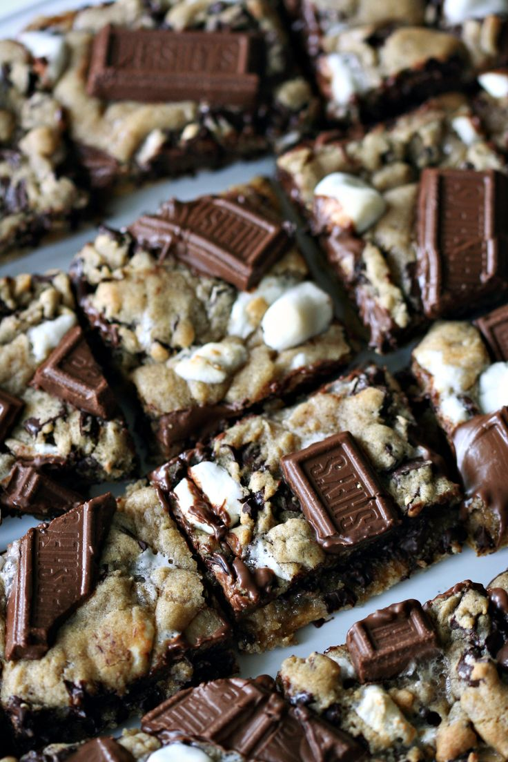 S'mores Cookie Bars - might be the dessert winner of the week.